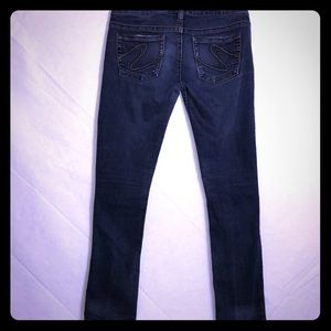 """Silver Tuesday low rise skinny jeans 30""""X33"""" GUC"""